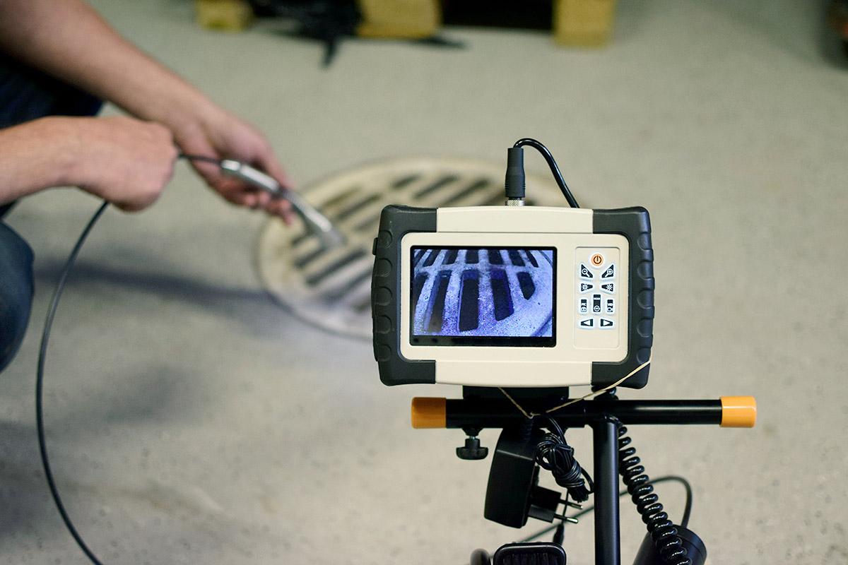 Inspection par caméra avec Plombier Beauport
